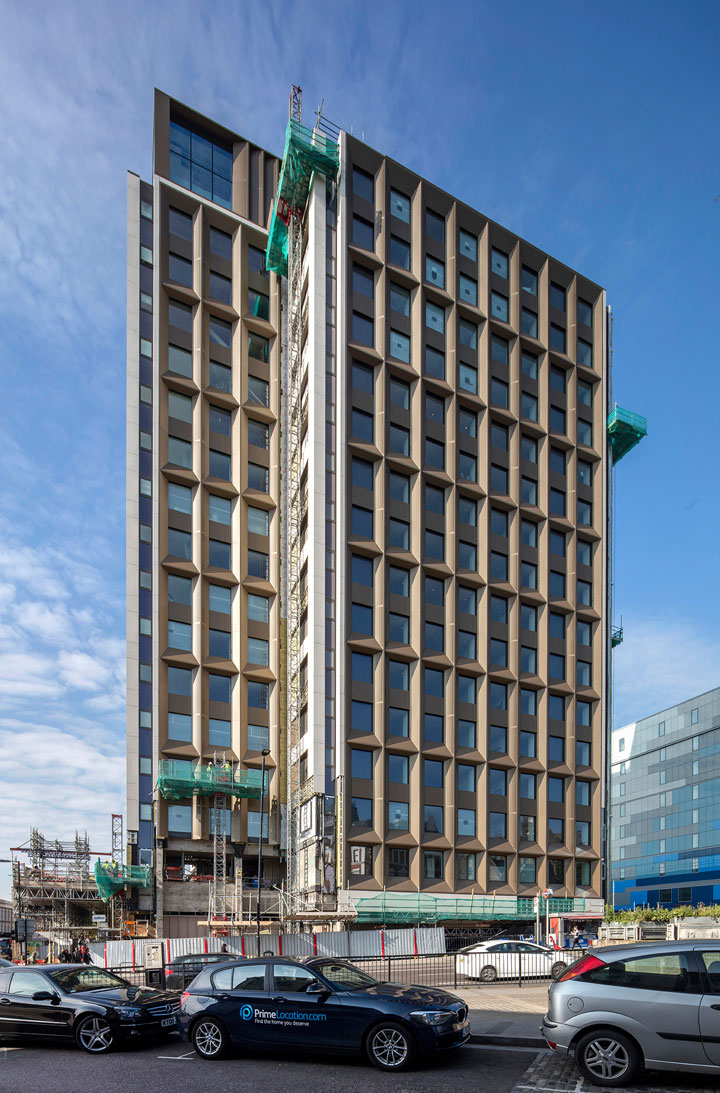 Is this the first purpose Designed PRS Building in London?