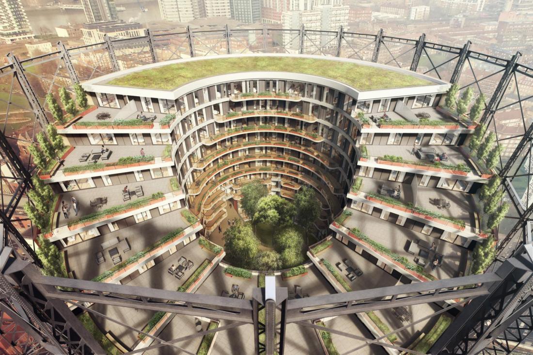 Oval Gasworks render